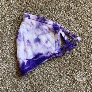 Purple Tye Dye Face Mask